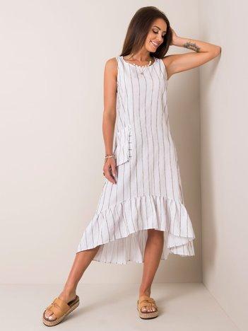 Biała sukienka Clemense