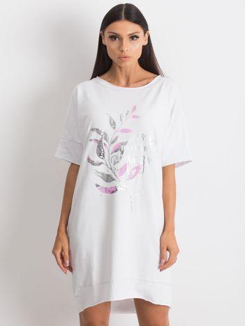 Biała sukienka Venturing