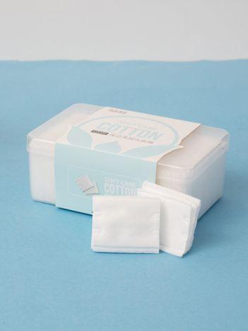 Białe bawełniane płatki kosmetyczne