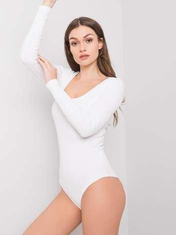 Białe body Jane