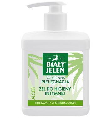Biały Jeleń Żel do higieny intymnej hipoalergiczny Aloes 500 ml