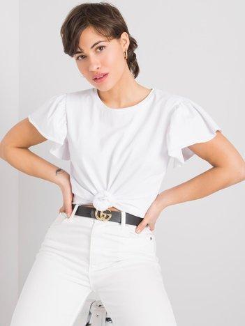 Biały t-shirt Aretha