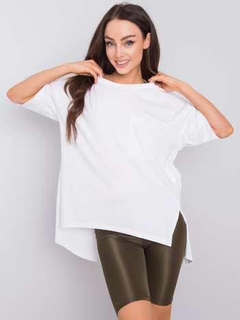 Biały t-shirt oversize Gabby RUE PARIS