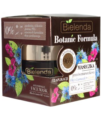 Bielenda Botanic Formula Olej z Czarnuszki+Czystek Maseczka przeciwzmarszczkowa 50ml
