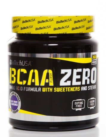 BioTech - BCAA Flash Zero - 360g blue grape