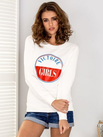 Bluza damska VICTOIRE GIRLS ecru