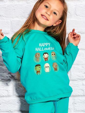 Bluza dziecięca z nadrukami postaci Halloween morska