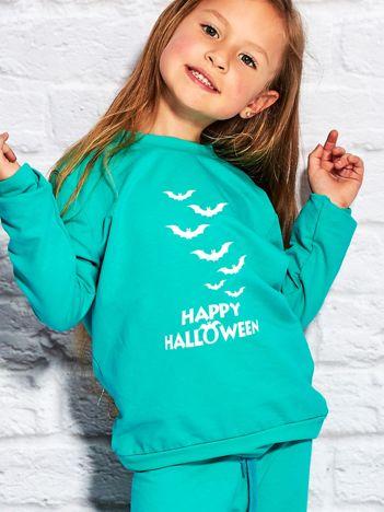 Bluza dziecięca z nadrukiem nietoperzy morska