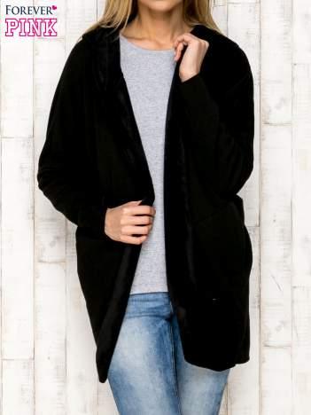 Bluza otwarta czarna
