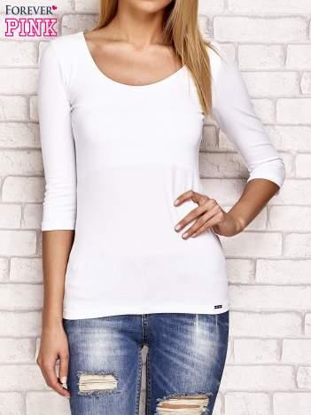 Bluzka damska basic biała