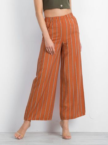 Brązowe spodnie Plentiful