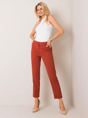 Brązowe spodnie Ruby RUE PARIS