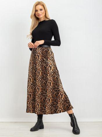 Brązowo-czarna spódnica Harriet