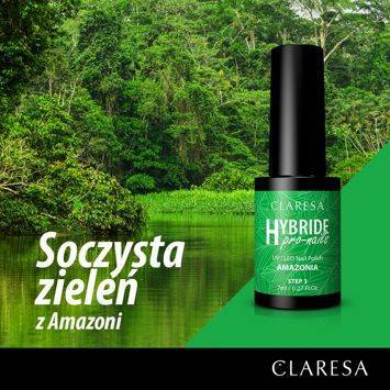 CLARESA Lakier Hybrydowy Summer AMAZONIA