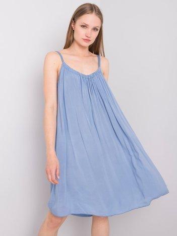Ciemnoniebieska sukienka Polinne OCH BELLA
