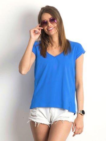 Ciemnoniebieski t-shirt Vibes