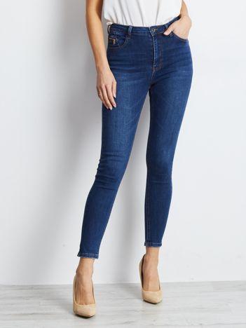 Ciemnoniebieskie jeansy Comeover