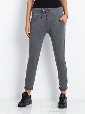 Ciemnoszare spodnie Cadence