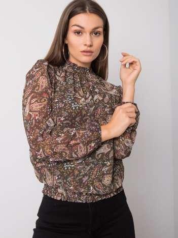 Ciemnozielona bluzka Raya SUBLEVEL