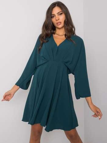 Ciemnozielona sukienka Zayna