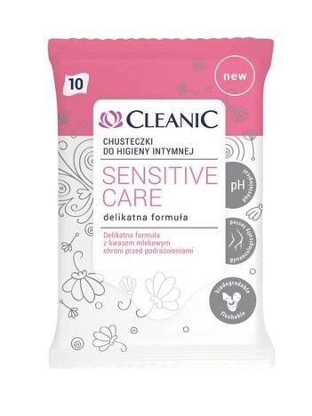 Cleanic Chusteczki do higieny intymnej Sensitive Care  1op.-10szt