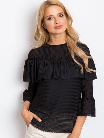 Czarna bluzka Journee
