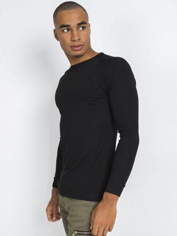 Czarna męska bluzka termiczna