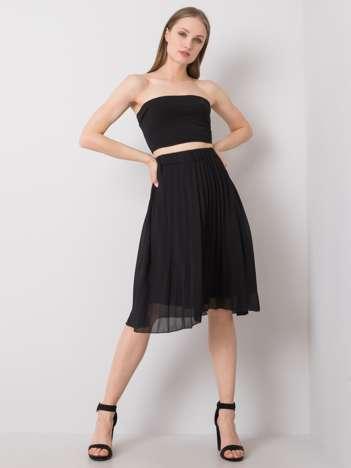 Czarna spódnica plisowana Angie SUBLEVEL