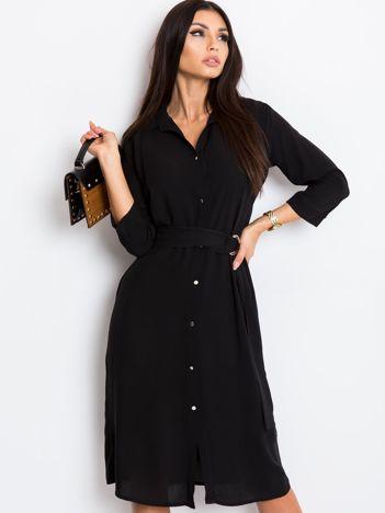 Czarna sukienka Amber