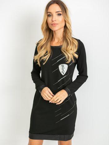 Czarna sukienka Amour