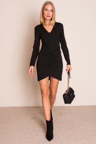 Czarna sukienka BSL