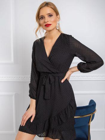 Czarna sukienka Jasmina RUE PARIS