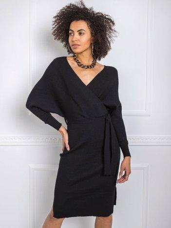 Czarna sukienka Lorna