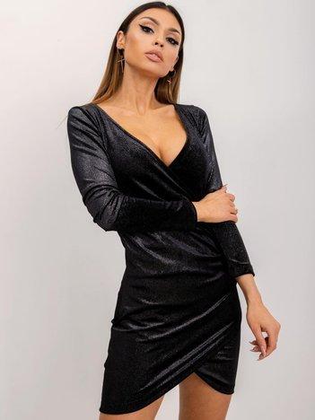 Czarna sukienka Sparkle