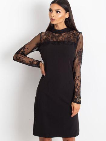 Czarna sukienka Time