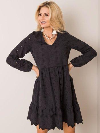 Czarna sukienka Vanessa RUE PARIS
