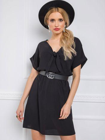 Czarna sukienka Virginia RUE PARIS