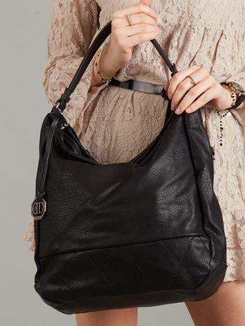 Czarna torba z eko skóry