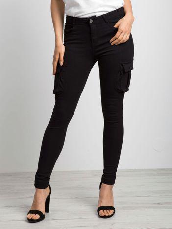 Czarne jeansy Vital