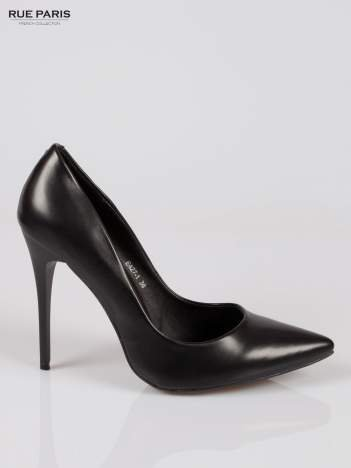 Czarne klasyczne szpilki damkie