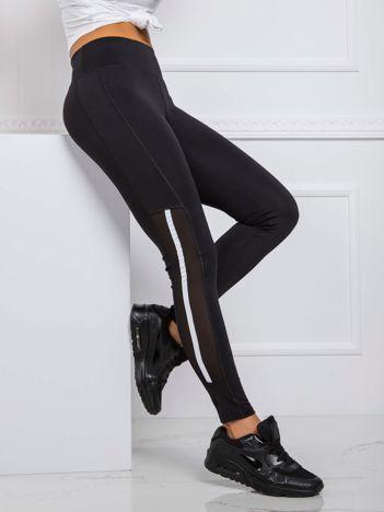 Czarne legginsy Claire FOR FITNESS