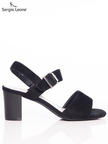 Czarne sandały Sergio Leone
