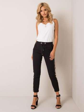 Czarne spodnie Colette