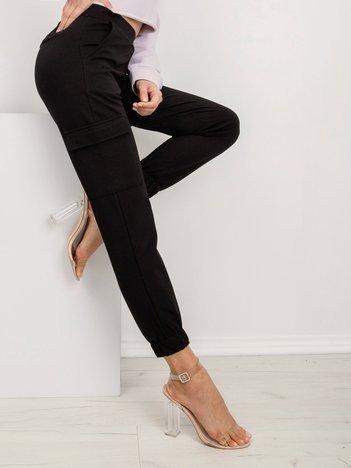 Czarne spodnie Layla
