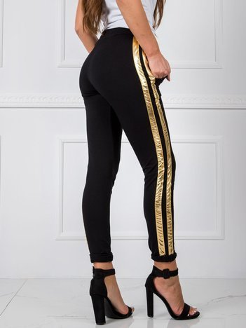 Czarne spodnie Sibille