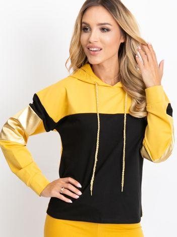 Czarno-żółta bluza Royal
