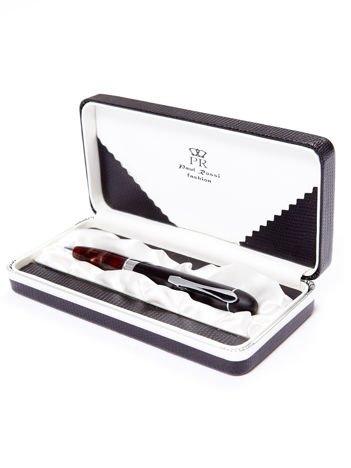 Czarny długopis w eleganckim etui
