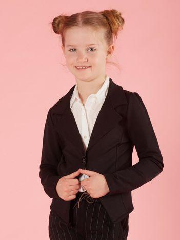 0547142e12 Czarny żakiet dla dziewczynki