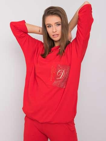 Czerwona bluzka Chiara