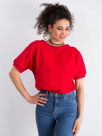 Czerwona bluzka Lemontree